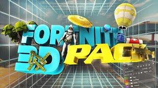 Pack modèle 3D Fortnite