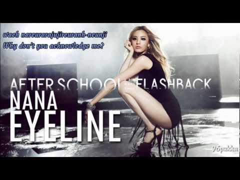 [Romanized+English Trans] After School (NANA) - Eyeline