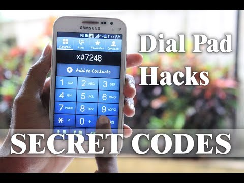 Android DIAL PAD Hacks!!! |SECRET CODES|