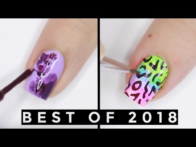 Best Nail Art of 2018 Fun & Easy Nail Art Compilation