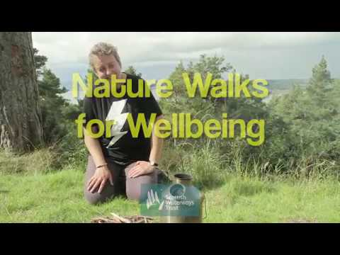 Nature-based therapy along Scotland's waterways with Scottish Waterways Trust