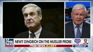 'This Is a Clear-Cut Drama': Gingrich Dubs Mueller's Russia Probe as the 'Trump Destruction Project'