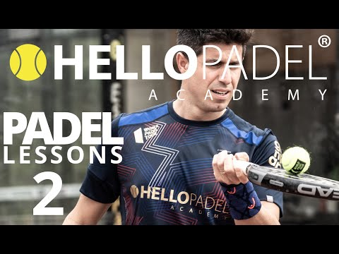 Padel lesson 2  - Offensive position at the net - Hello Padel Academy