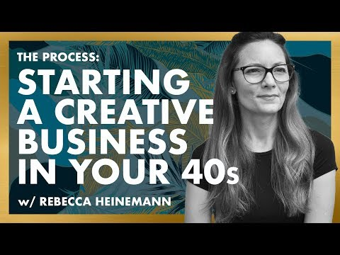 Launch A Creative Business In Your 40s? Ep.1 Series Premiere