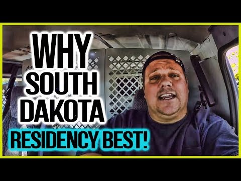 Why South Dakota Residency Best For Full Time RV Living Or Digital Nomads