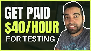 Get paid to test websites online, you can make money online testing where earn up $40 per hour. download my free affiliate marketing succ...