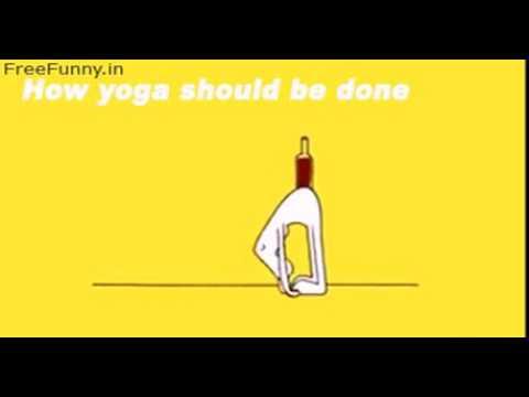 Yoga Funny Cartoon Youtube