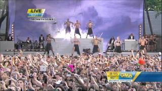 Lady GaGa - Bad Romance - Live at Good Morning America