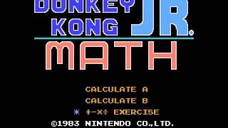 NES Longplay [712] Donkey Kong Jr. Math