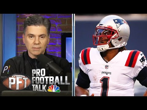 Cam Newton: New England Patriots' Wide Receiver Solution Is In The Locker Room | PFTPM | NBC Sports