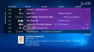 Media Center 7 TV Guide
