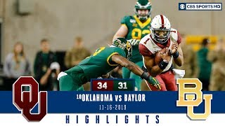 Oklahoma vs Baylor Highlights: Sooners pull off largest comeback in school history | CBS Sports HQ