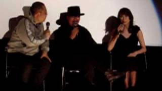 2003年3月8日,自由が丘武蔵野館での千葉真一トークショーです。