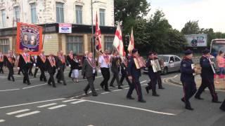Orange Order Parade in Toxteth - Liverpool L8