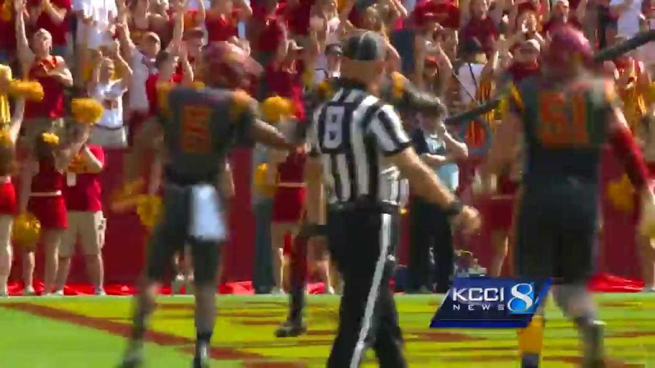 Halftime: Iowa State 21, Northern Iowa 10