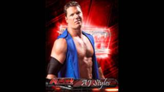 "TNA - AJ Styles 2011 Theme Song ""I am"""