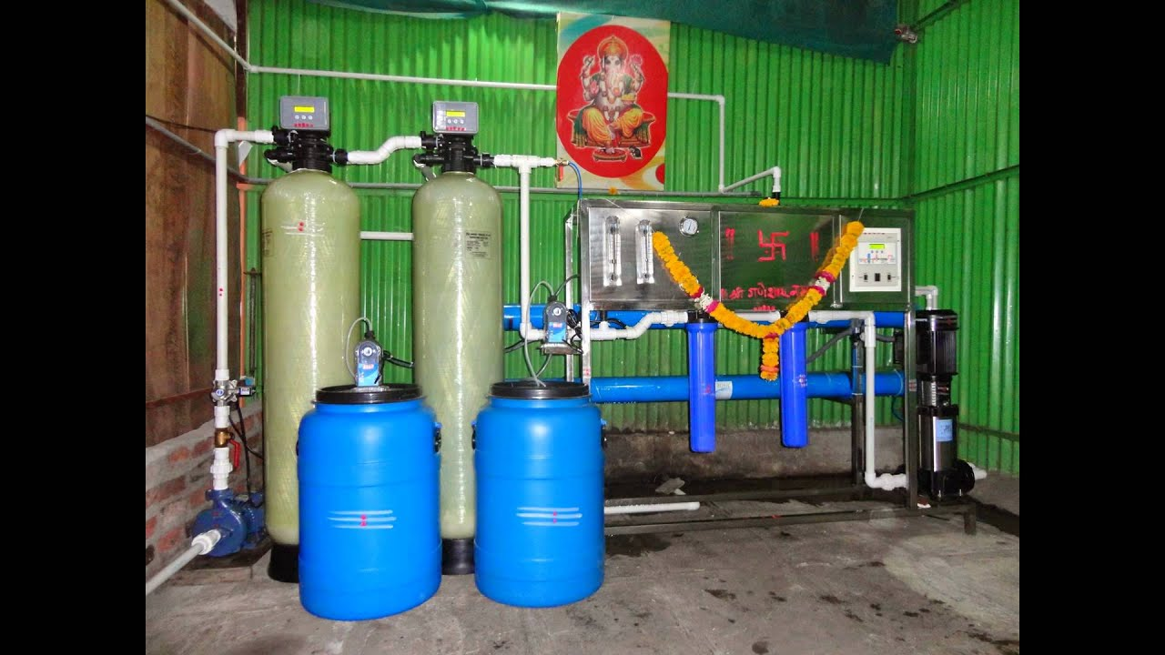 RO Plant 1000 Lph Fully Automatic