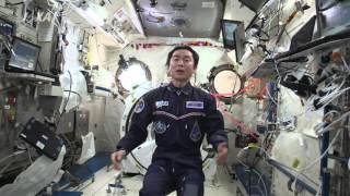 ISS長期滞在を控えている大西宇宙飛行士と金井宇宙飛行士へエールを送る...