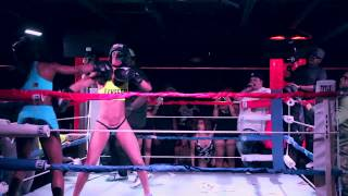 knock out mondays stadiumclub ft gino graham queen of the ring foxxxy boxing