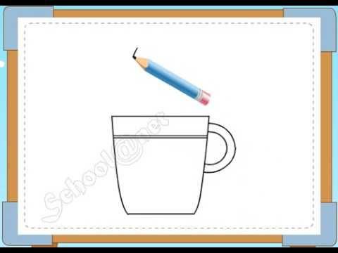 BÉ HỌA SĨ – Thực hành tập vẽ 69: Vẽ cái cốc