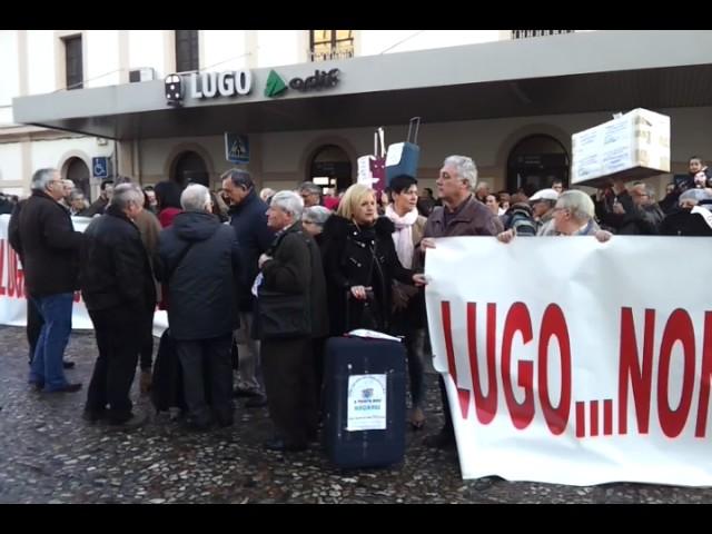 Todos los partidos de Lugo apoyan el clamor vecinal para dotar de servicios ferroviarios a la provincia