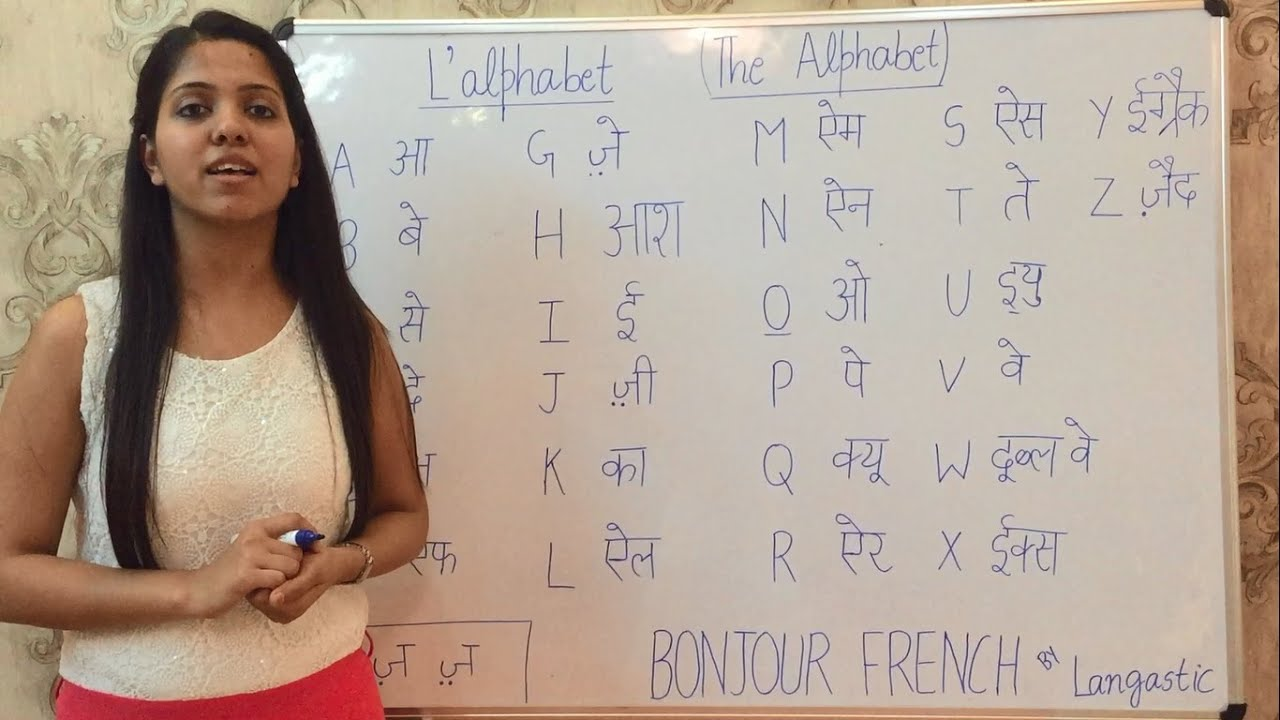 How to learn french alphabets pronunciation