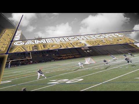 Baldwin Bruins Lacrosse vs Long Beach HS 2017 [Bruins Game Highlights]