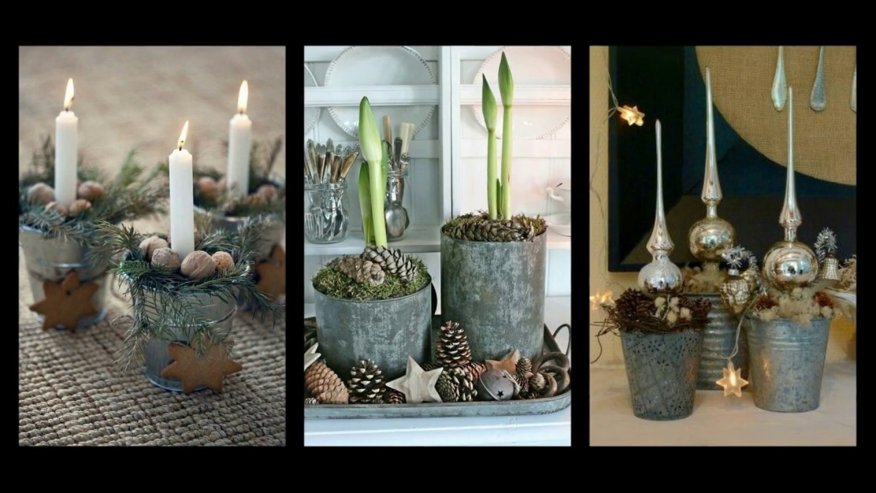 Rustic Christmas Decorations Ideas Winter Decorating
