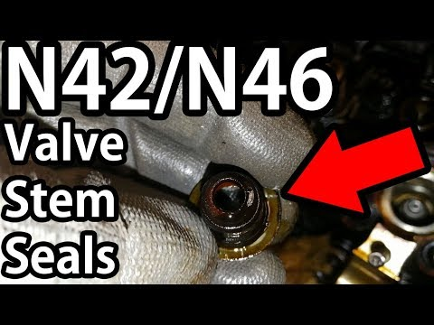 BMW E46 N42/N46 Valve Stem Seals - Replacement DIY Guide