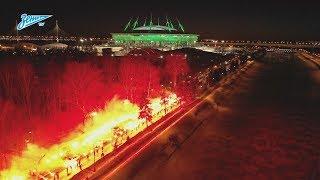 Огненная встреча команды перед первым домашним матчем 2019-го