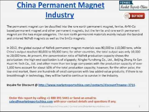 China Permanent Magnet Market