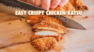 The Easiest Homemade Chicken Katsu