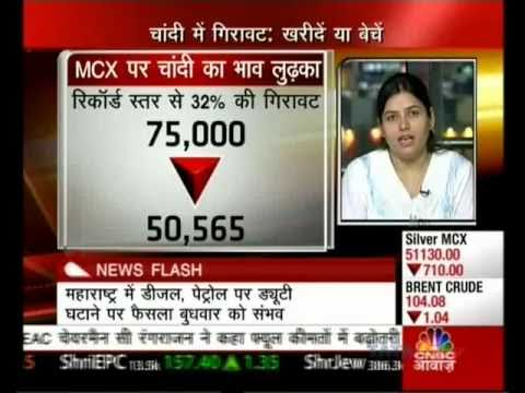 Rupa Mehta Commodity Analyst of Wellindia on CNBC Awaaz