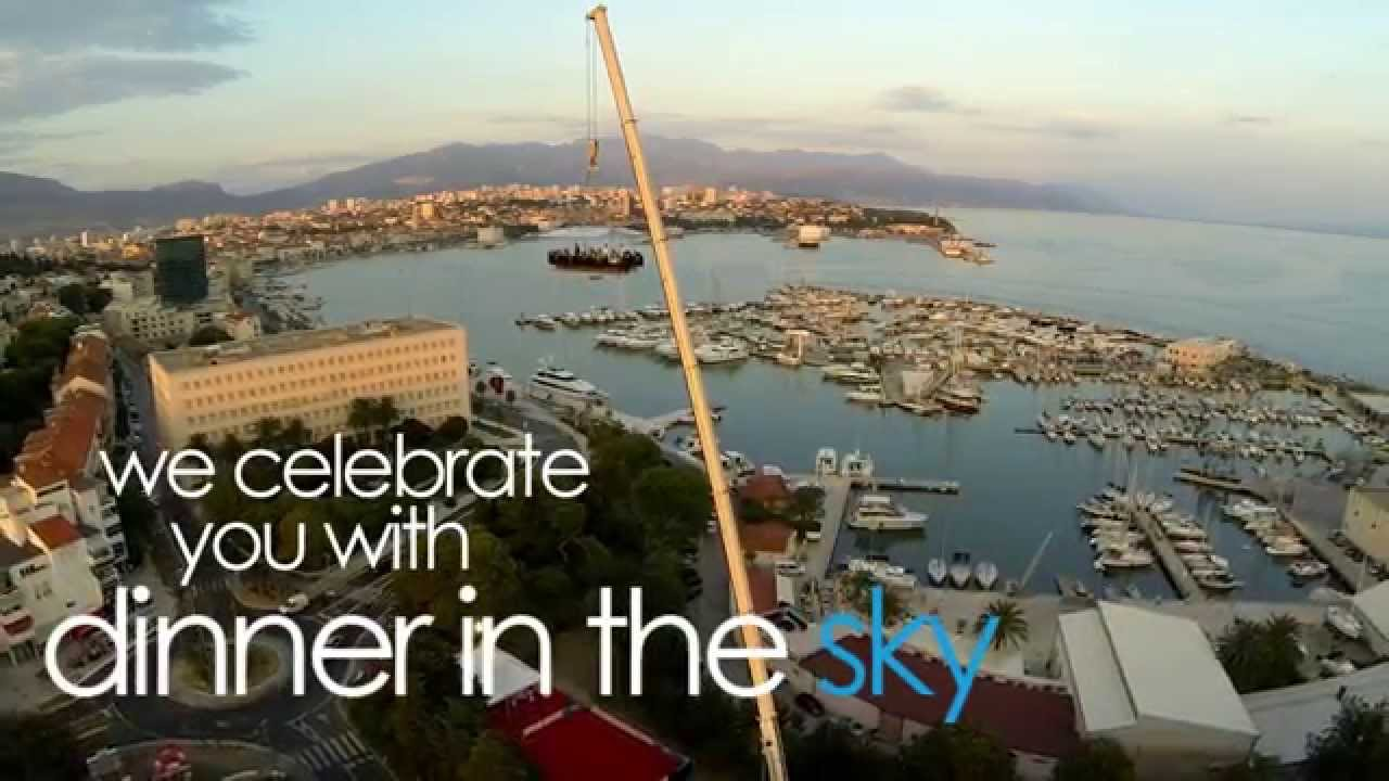 Dinner In The Sky Unforgettable Experience YouTube - Dinner in the sky an unforgettable experience