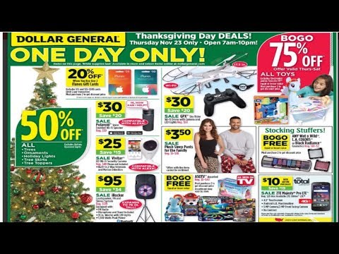 Dollar General Black Friday 11/23/17