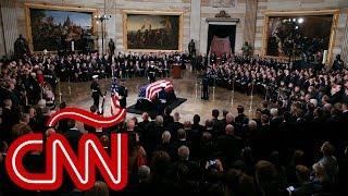 Así fue el funeral del expresidente de EE.UU. George Bush padre