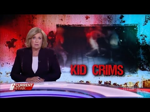 ACA. Kid Crims. (Aboriginal Youth Crime Storm In NT)