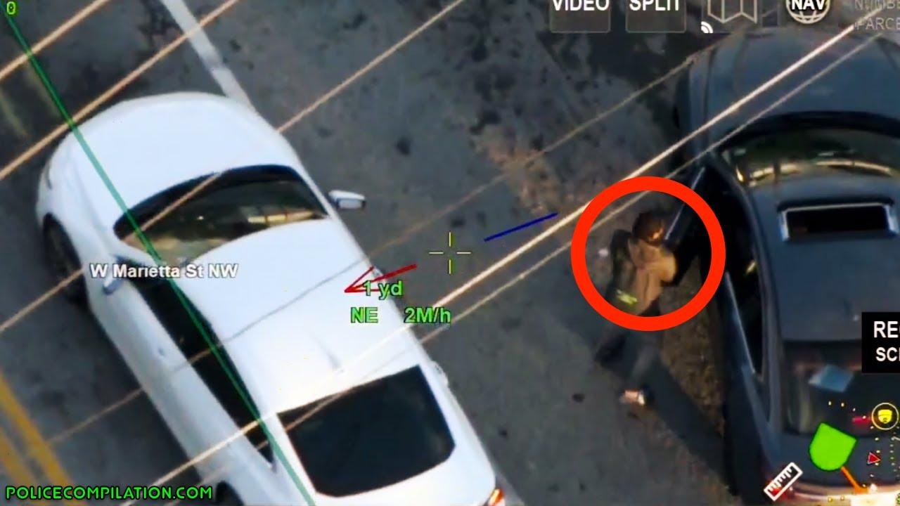 Police chase in Atlanta   October 7, 2021