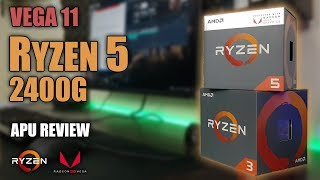 RYZEN 5 2400G APU Review | The BEST APU EVER? | 7 Games Tested | 4C/8T + VEGA 11 Gaming Benchmarks