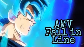 Dragon Ball Super [AMV] Fall In Line
