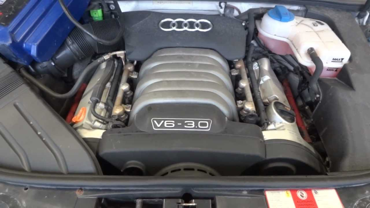 2006 audi a4 engine removal