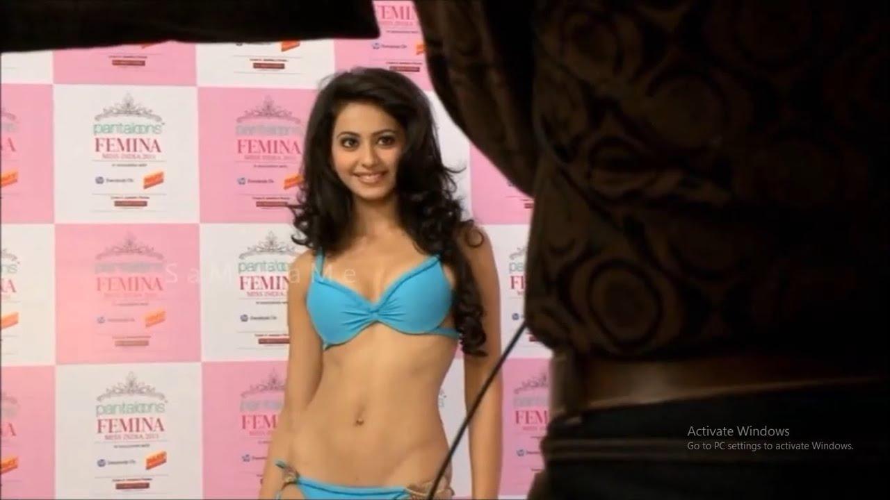 Rakul Preet Singh Hot Bikini Photos
