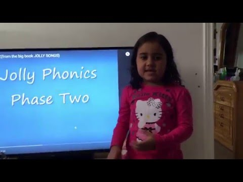 jolly phonics with Julia Flamini