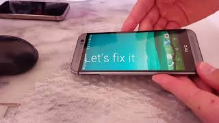 hTC m8 gps repair      htc one