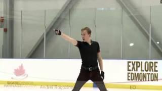2016 Skate Canada Challenge Andrei Rogozine SP
