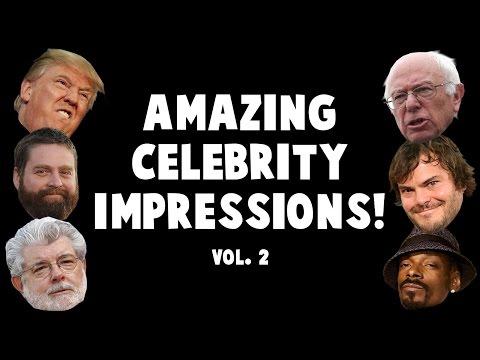 Amazing Celebrity Impressions Volume 2