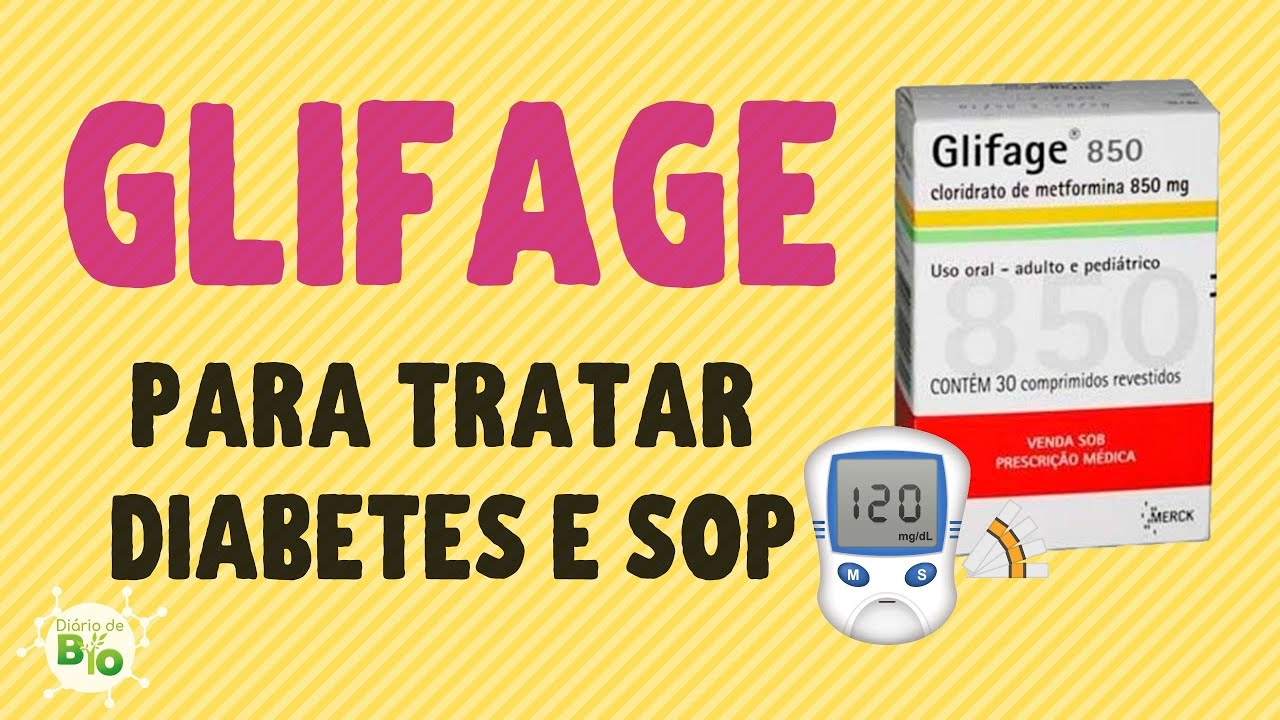 remédio de diabetes glifage