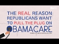 Robert Reich: The Real Reason Republicans Want to Pull the Plug on Obamacare