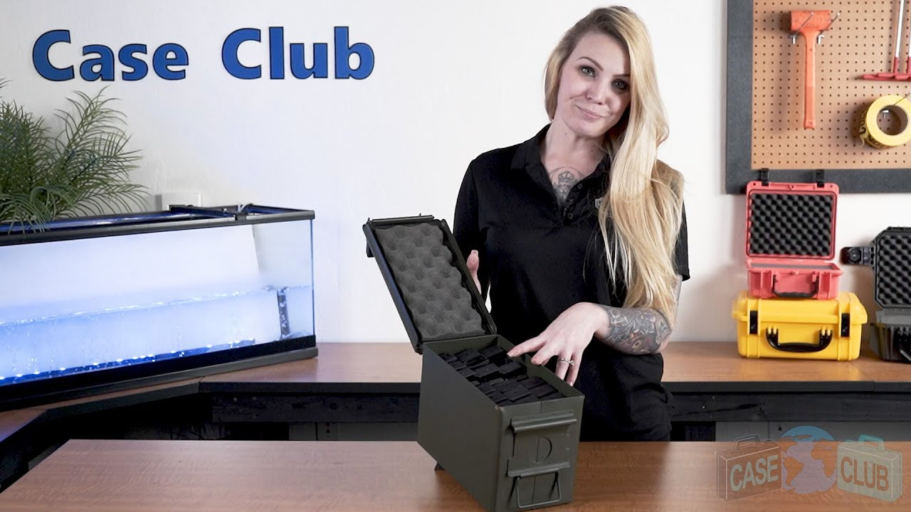 Case Club 24 Magazine Ammo Can Foam - Overview - Video