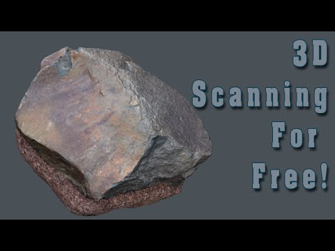 3D scanning for free!
